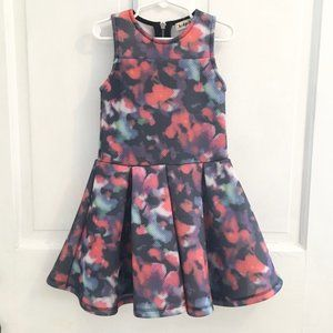 🎉4 for $30🎉Modern Floral Jersey Dress SIZE 5/6